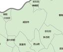 成田周辺地図